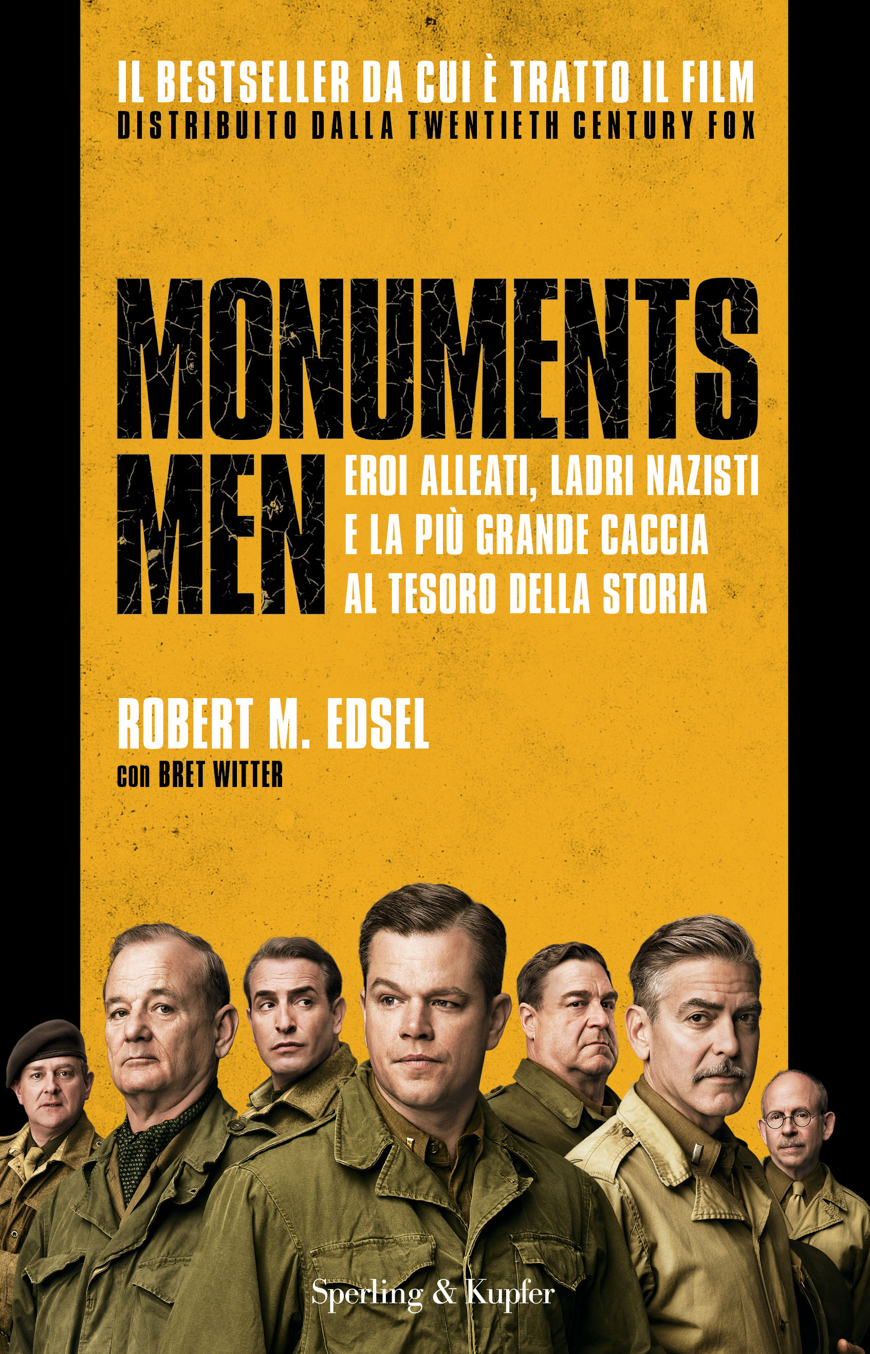 Monuments Men: film vs libro