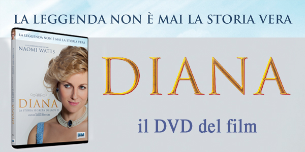 Diana: il DVD del film