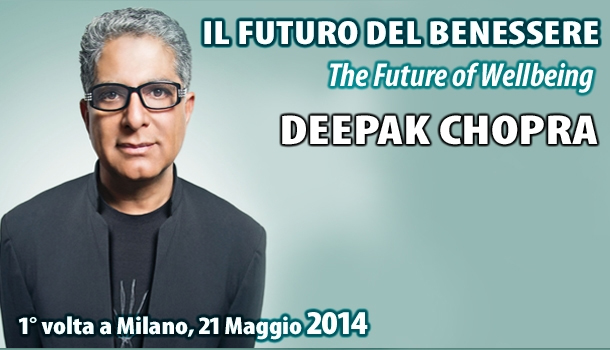 21 maggio 2014 - Deepak Chopra a Milano