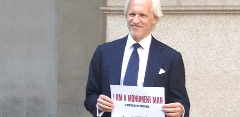 I am a Monuments Man! #MonumentsMenWE
