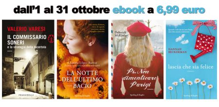 Gli ebook di ottobre a 6,99 euro