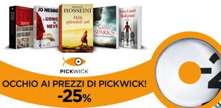 Occhio al prezzo: Pickwick -25%