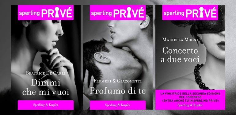 Tutte le novità Sperling Privé