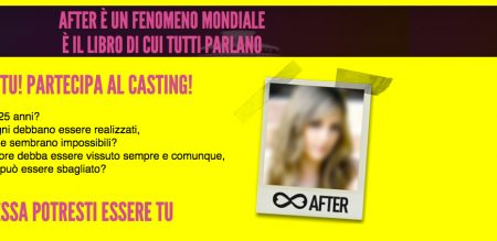 AFTER SEI TU! Il casting