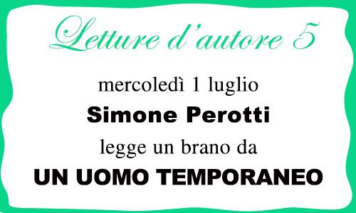 Letture d'autore. Ultimo appuntamento con Simone Perotti