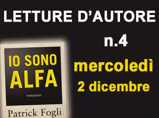 Patrick Fogli legge IO SONO ALFA - GUALTIERO