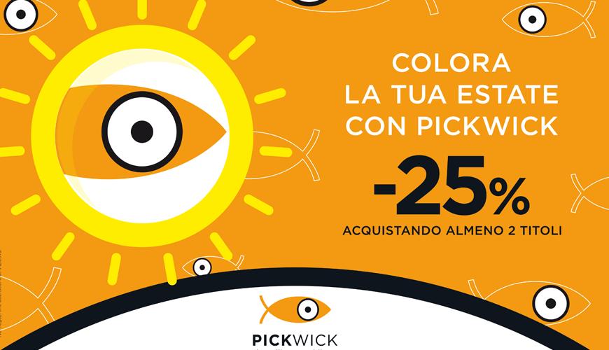 Pickwick colora la tua estate (e moltiplica il piacere)