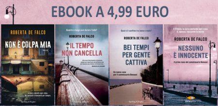 Gli ebook di Roberta De Falco a 4,99 euro