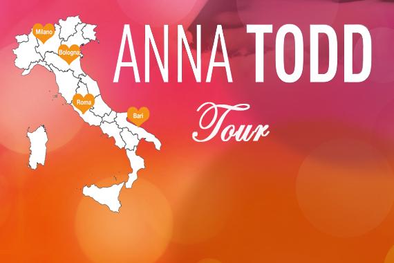 Anna Todd in Italia per NOTHING LESS