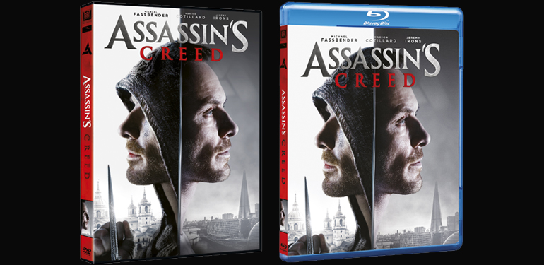 ASSASSIN'S CREED dal 4 maggio in DVD e BLU-RAY