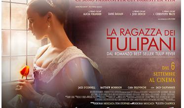 Tulip fever diventa un film: La ragazza dei tulipani