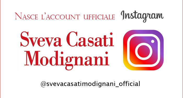 Sveva ora anche su Instagram!