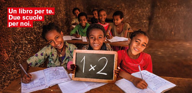 Le case editrici del Gruppo Mondadori e ActionAid insieme per il diritto all'istruzione in Etiopia